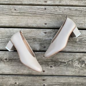 Gray _Matters Mildred V Neck Low Pump In Taupe